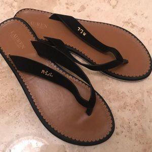 Perfect Ralph Lauren flip-flops!